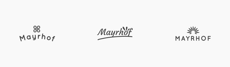 Mayrhof Urlaub auf dem Bauernhof, Corporate Design, Logo, Webdesign